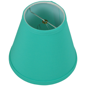 4 x 7 x 6.5 Round Lampshade with Bulb Clip Attachment