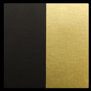 Paper - Black w/ Gold Foil