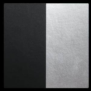 Paper - Black w/ Silver Foil