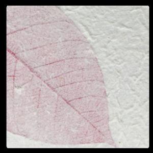 Paper Kozo - Fossil Leaf Pink